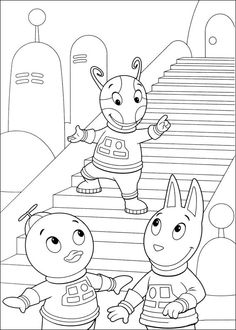 Backyardigans Tegninger til Farvelægning 46