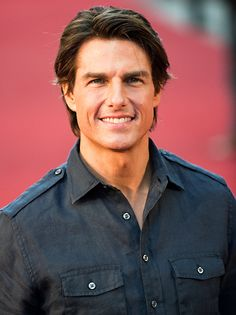 Tom Cruise - I like him but sometimes he has something je ne sais quoi which kind of scare me...Like in Magnolia