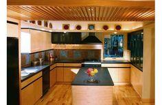 Kitchen designed by architect Sarah Susanka.
