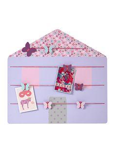 Vertbaudet Pinnwand fürs Babyzimmer in violett