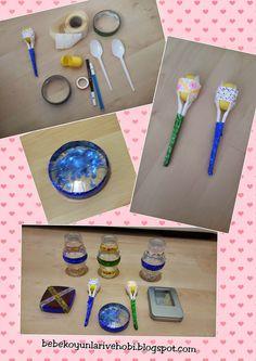 Elifce Bebek Oyunları ve Hobi: marakas ve çıngırak yapımı