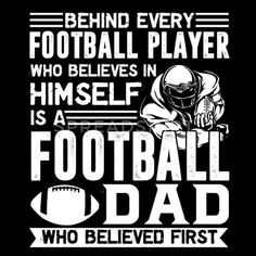 Football Player Dad Shirt - Men's Premium T-Shirt