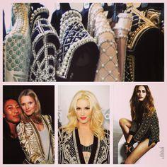 Balmain Beaded Fashion Inspiration!! Love Lust