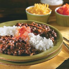 Black Beans and Rice recipe from Southern Living....so good!!!!