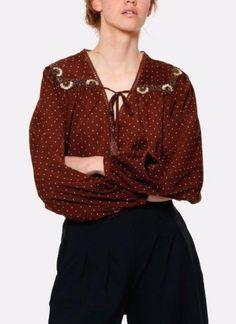 blouse Meisie à pois
