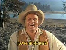"""Dan Blocker was six foot four and over three hundred pounds when chosen to play the gentle middle son Eric, also known as Hoss. The nickname was used as a nod to the character's ample girth, an endearing term for """"big and friendly"""", used by his Swedish mother (& uncle, Gunnar), or a rib to his humiliating, failed attempt to break a horse (""""Ponderosa"""", episode No. 1, PAX TV 2001). In the Bonanza flashback (Bonanza, """"Journey Remembered""""; episode No. 142, NBC-TV, 1964)."""