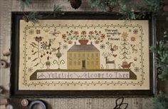 Primitive - Cross Stitch Patterns & Kits - 123Stitch.com
