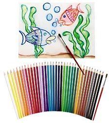 36-Piece Aquarelle Pencils