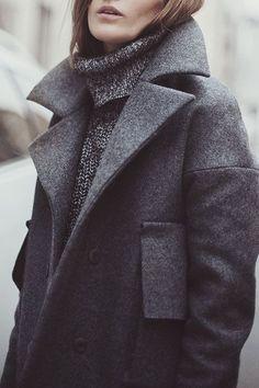 Winter Coat Inspiration | Image via thisisglamorous.com