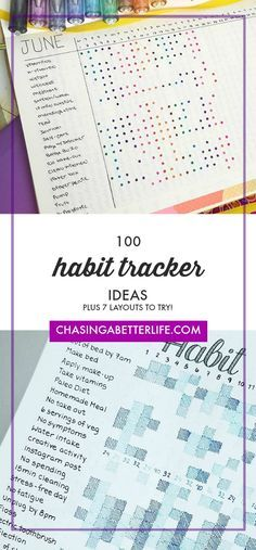 Bullet Journal Habit Tracker Ideas To Take Your Bullet Journal To The Next Level