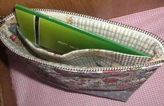 仕切りのあるファスナーポーチの作り方 めいびおばちゃんの手作り雑貨