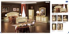 ESF Aida Traditional Ivory With Gold Accents Classic Italian King Size Bedroom Set King Size Bedroom Furniture, Wooden Living Room Furniture, Modern Home Office Furniture, Arranging Bedroom Furniture, King Size Bedroom Sets, Pallet Patio Furniture, Contemporary Living Room Furniture, Bedroom Arrangement, Furniture Arrangement