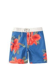 FLORAL SWIMSUIT - Beachwear - Man - ZARA United States