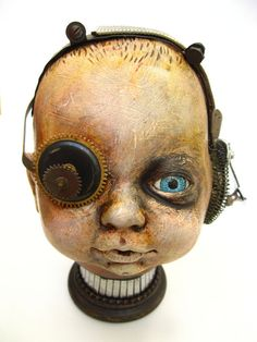 assemblage and found object art | Gen Baby by Urbandon. Assemblage of found objects (4) Photos ...