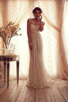 Romantisch Zarte Spitze Brautmode Column Rückenlos Hochzeitskleid Maßanfertigung in Kleidung & Accessoires, Hochzeit & Besondere Anlässe, Brautkleider | eBay!