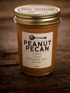 peanuts + pecans + wildflower honey + sea salt