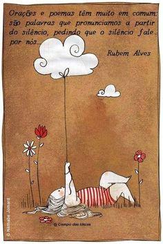 REGBIT1: Orações e poemas têm.......RUBENS ALVES