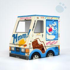 OTO Ice Cream Truck for Cats! - Famous OTO