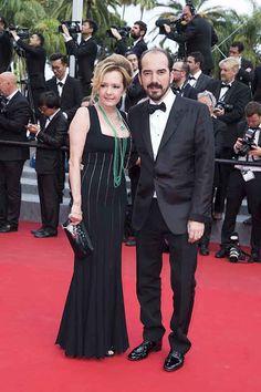Caroline Scheufele en partner Alexis Veller bij het Cannes Filmfestival 2015