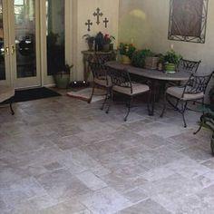 15 Best Travertine patios images | Travertine, Patio ... on Travertine Patio Ideas id=28745