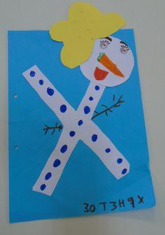 Preschool Education, Winter Art, Alphabet, Kindergarten, Language, Letters, Activities, Colors, Blog