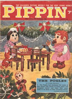 The Pogles of Pogles Wood featured in this lovely comic.