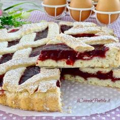 Dolci Bimby - Ricette per dolci con Bimby TM31 e Tm5 Il Cuore in Pentola Crepes, Yogurt, Apple Pie, Mousse, Waffles, French Toast, Food And Drink, Favorite Recipes, Snacks