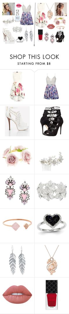 """Which Outift?"" by creativegurlsrbaexoxo ❤ liked on Polyvore featuring Ally Fashion, Alexander McQueen, Accessorize, Brides & Hairpins, Erickson Beamon, M&Co, Michael Kors, Kevin Jewelers, Belk Silverworks and LE VIAN"