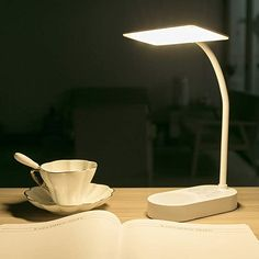 Rechargeable Battery Powered Led Desk Table Lamp Home Office Adjustable Reading Book Light for Kids Study in Bed Bedroom Bedside Headboard Touch Dimmable Reading Lamp USB Charging Port White Décor Décor Toys Animals-Toys Improvement Fans Lamps Cordless Table Lamps, Led Desk Lamp, Usb, Book Lamp, Home Office Accessories, Lampe Decoration, Kids Study, Lumiere Led