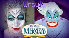 Disney Ursula Halloween Makeup Tutorial