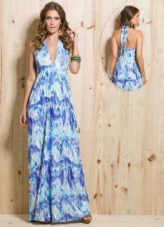 vestidos longos para o dia a dia de malha - Pesquisa Google