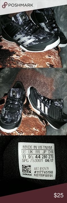 buy popular 3e214 9fc9b Adidas womens size 11 volleyball shoes Gently used Adidas shoes for all  wear. From Adidas