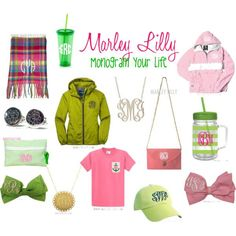 Marley Lilly: Monogram Your Life by marleylilly on ...