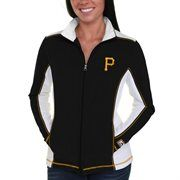 Pittsburgh Pirates Majestic Women's Kiss the Batter Jacket – Black