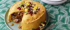 Liam's Nan's Sunday Dinner – recipe from The Great British Bake Off - Recipes - British Baking Show Recipes, British Bake Off Recipes, Great British Bake Off, Pie Recipes, Baking Recipes, Favorite Recipes, Stuffed Peppers, Sunday, Gourmet