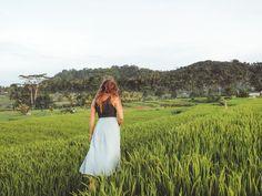 Die schönsten Reisterrassen und Wasserfälle der Insel. Ubud, Bali, White Dress, Life, Dresses, Nice Breakfast, Vestidos, Dress, Gown