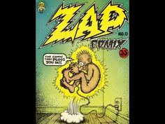 ip  ROBERT CRUMB  ZAP #0 COMIX  First Print DON DONAHUE APEX NOVELTIES 1...