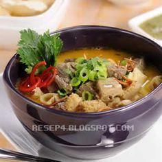 Soto Betawi, Indonesian Cuisine, Indonesian Recipes, Asian Recipes, Healthy Recipes, Asian Foods, Malaysian Cuisine, Malaysian Food, Pop Sicle