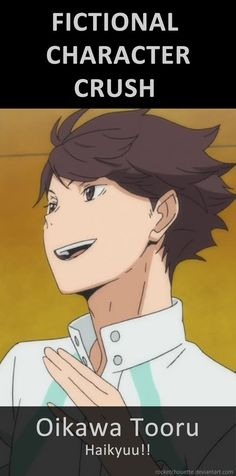 Oikawa is so funny, sweet, hot and ambitious. - Fictional Character Crush: Oikawa Tooru by RocketChouette on DeviantArt, Chouette / Chouettchen on pinterest