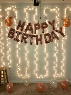 Most up-to-date Pic Birthday Decorations Popular There's no need to seek .- Most up-to-date Pic Birthday Decorations Popular There's no need to seek the services of an internal custom made to make a major assertion at the f 14th Birthday Party Ideas, 18th Birthday Party Themes, 21st Birthday Decorations, 17th Birthday, Happy Birthday, Surprise Party Decorations, Surprise Birthday Parties, Birthday Surprises, Birthday Surprise Ideas For Best Friend