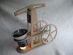 Walking beam Stirling engine kit - Scrap To Power