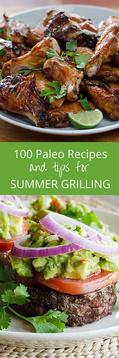 This ultimate guide to summer grilling includes 100+ paleo recipes, resources, and tips for healthy grilling. Everything you need for a gluten-free cookout!