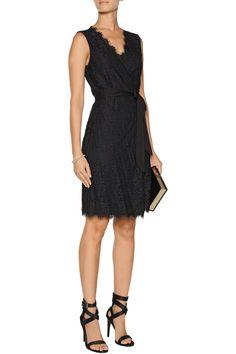 Diane von FurstenbergJulianna lace wrap dressfront