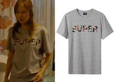 "Gong Hyo-Jin 공효진 in ""It's Okay, That's Love"" Episode 3.  Ist Kunst Super Floral Short Sleeve Shirt #Kdrama #ItsOkayThatsLove 괜찮아, 사랑이야 #GongHyoJin"