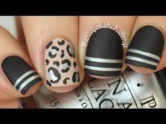 Easy Chanel Designer Nail Art DIY    KELLI MARISSA - YouTube