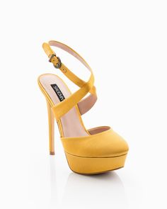 cd4b5178812 Mustard Sadie Pump by ShoeMint - great color and style!
