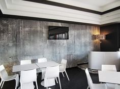 concrete wall 2 wallpaper 101 Concrete Wallpapers for An Original Industrial Look by Tom Haga