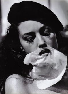 Monica Bellucci by Helmut Newton
