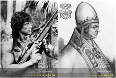 Sylvester Stallone | Papst Gregor IX. Sylvester Stallone, Time Travel, Celebs, Figurine