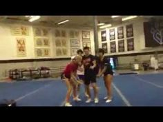 Cami, Blake, Victoria and their version of the Panthers routine 2012